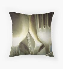 Silverware... Throw Pillow
