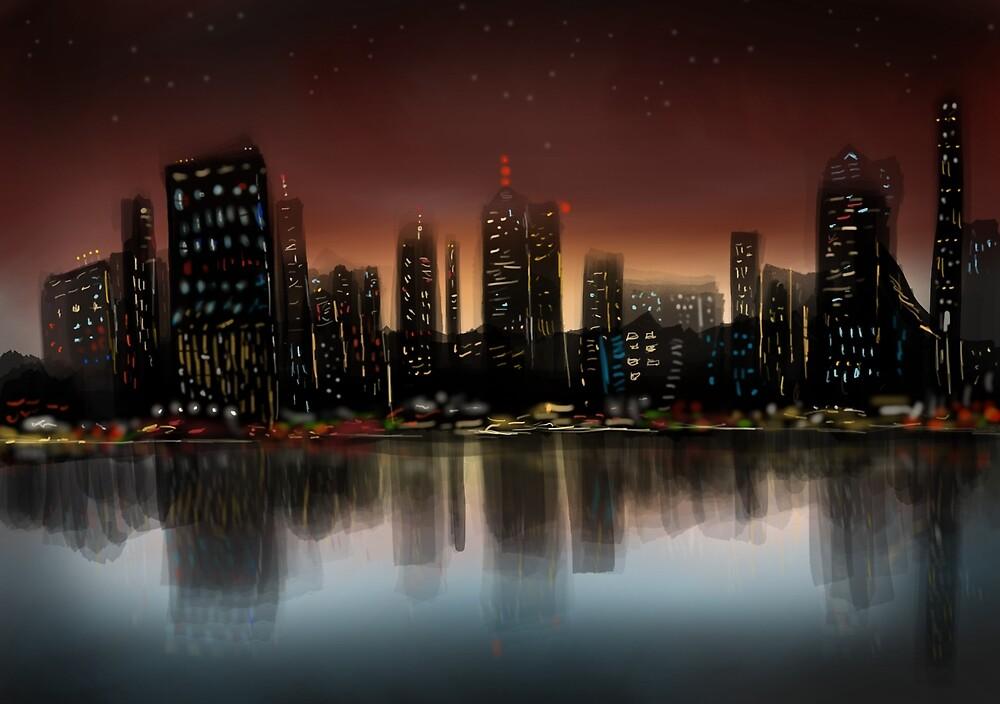 City Night by Brian Swisher