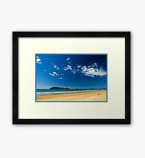 Sunny day,Dunk Island view. Framed Print