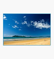 Sunny day,Dunk Island view. Photographic Print