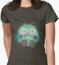 Green Fluff Womens Fitted T-Shirt