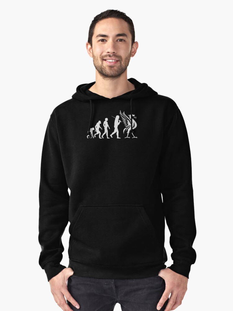 Evolution to be pullover hoodie by danendracute redbubble for T shirt printing in lufkin tx