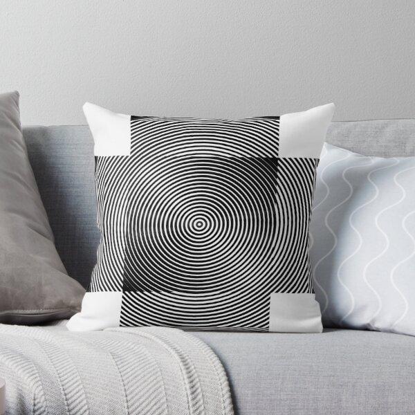 Visual Illusion #VisualIllusion Optical #OpticalIllusion #percept #reality Throw Pillow