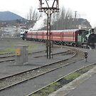 Y 112 Steam Loco- Ballarat Station by judygal