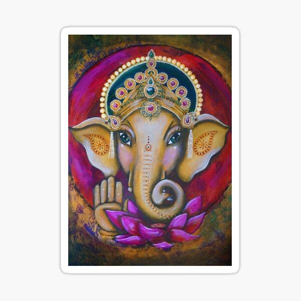 Ganesha A3 Sticker