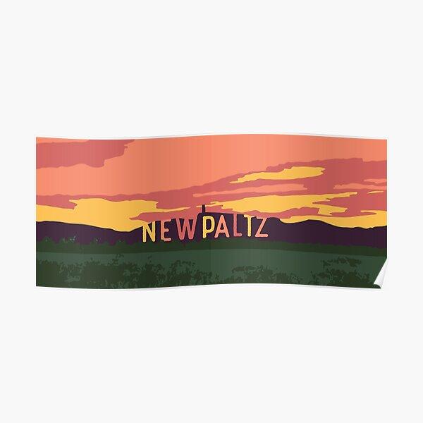 New Paltz Ridge - fall Poster