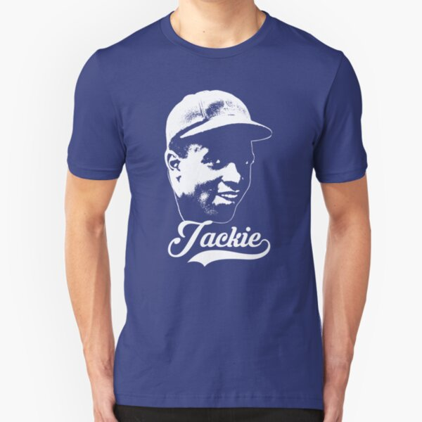 Jackie - The White Stencil Slim Fit T-Shirt