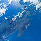 Luzon Island Philippines Space Photography by Jim Plaxco