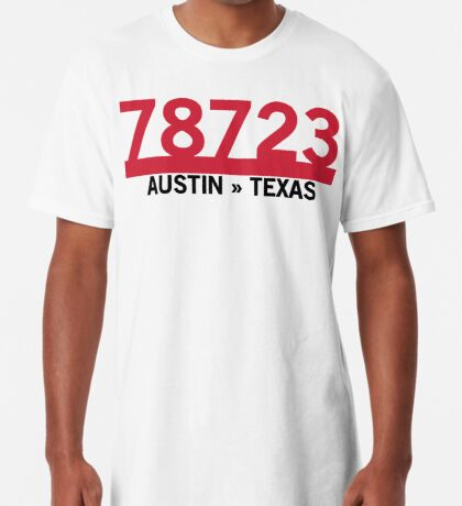 78723 - Austin, Texas ZIP Code Long T-Shirt