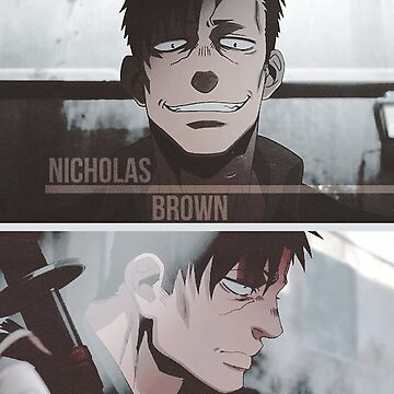 Nicholas Brown - Gangsta by aquacarl