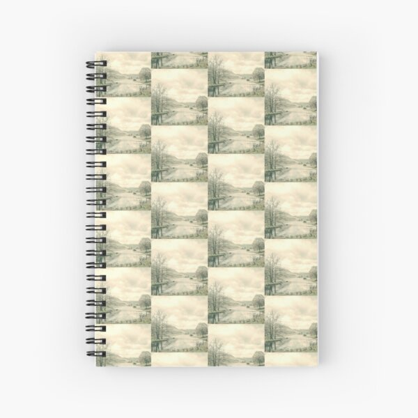 Countryside, Lakes & Forest C149 Spiral Notebook