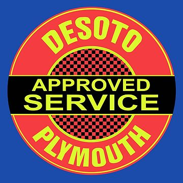 Desoto Plymonth Service Shirt by PumpingGas