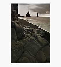 the legendary  trolls - Reynisdrangar Photographic Print