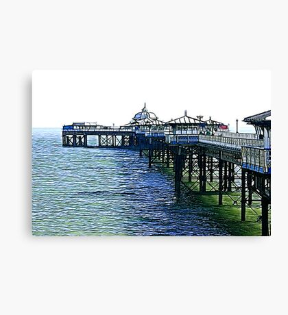The Pier -Llandudno -North Wales Canvas Print