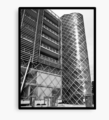 Kingsway Car Park Canvas Print