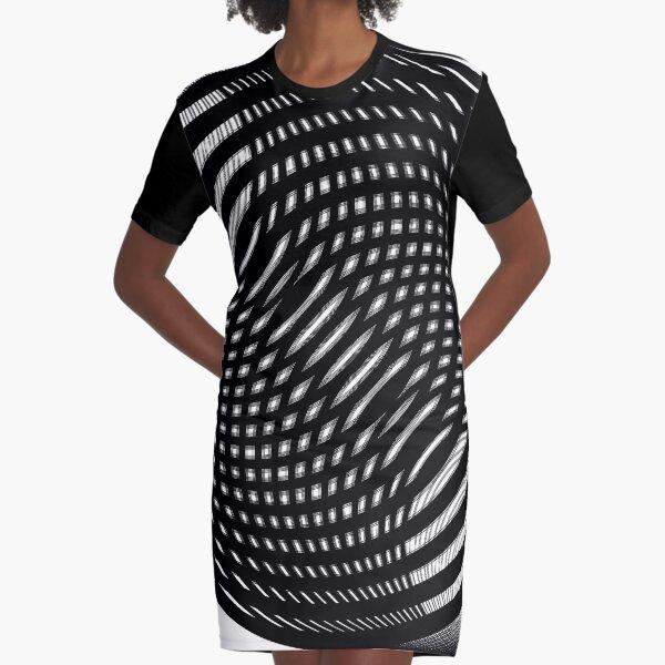 Visual Illusion #VisualIllusion Optical #OpticalIllusion #percept #reality Graphic T-Shirt Dress
