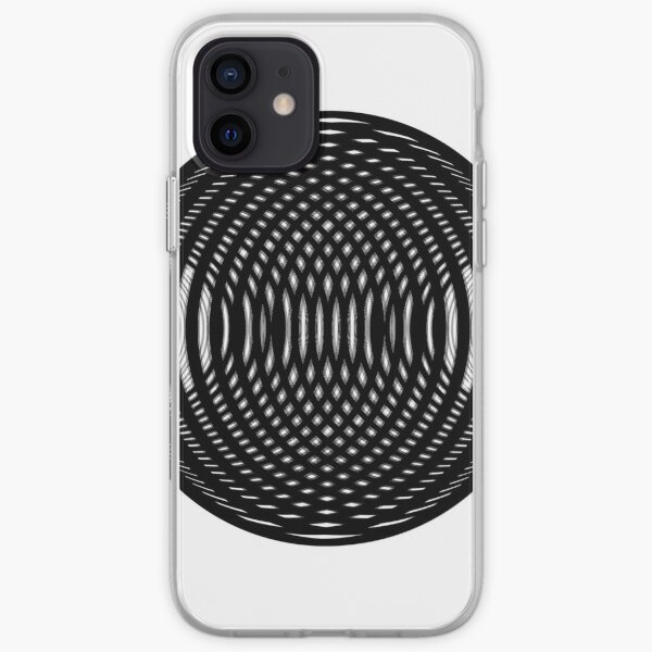 Visual Illusion #VisualIllusion Optical #OpticalIllusion #percept #reality iPhone Soft Case