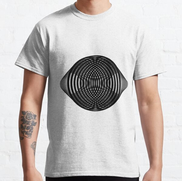 Visual Illusion #VisualIllusion Optical #OpticalIllusion #percept #reality Classic T-Shirt