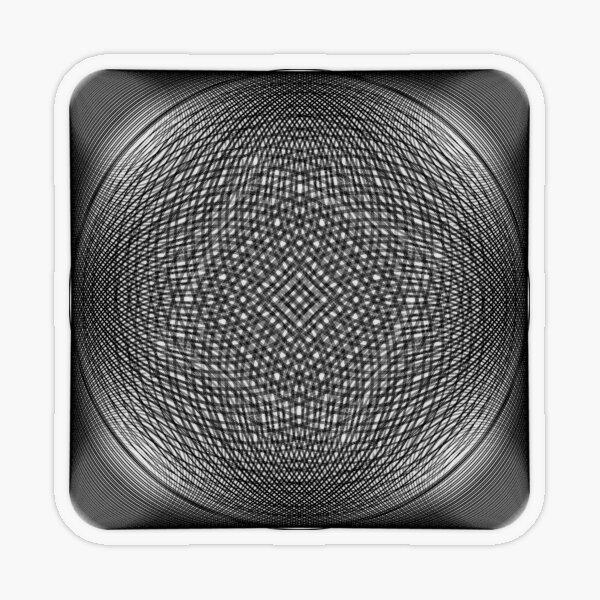Visual Illusion #VisualIllusion Optical #OpticalIllusion #percept #reality Transparent Sticker