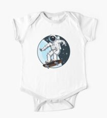 Asteroidday Short Sleeve Baby One-Piece