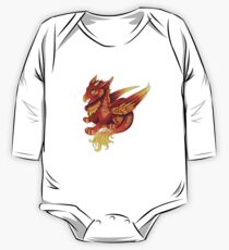 Jungtier - Feuer Baby Body Langarm