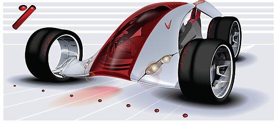 Nike Concept Car by kiwiartyfarty