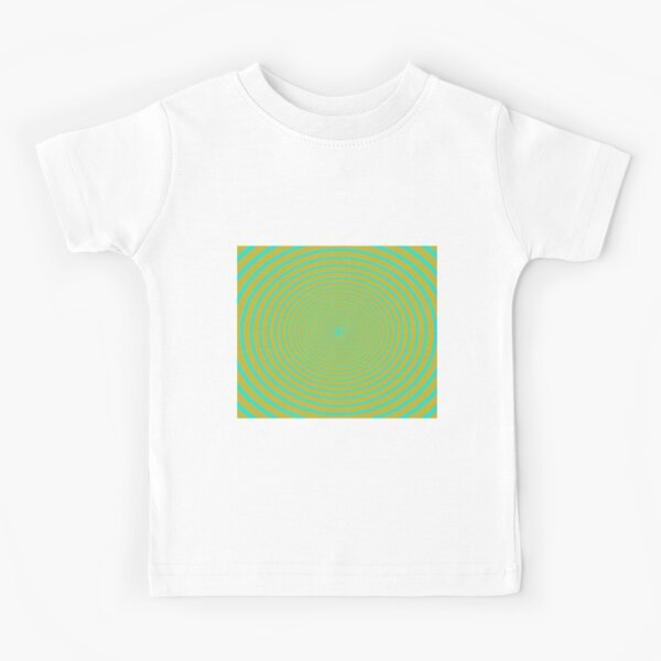 Visual Illusion #VisualIllusion Optical #OpticalIllusion #percept #reality Kids T-Shirt