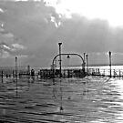 wet south coast pier 1  by bywhacky
