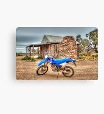 Old Hut, New Stead Canvas Print
