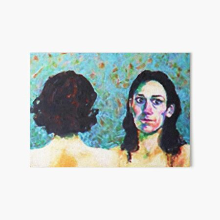 Fleabag and Claire Painting  Art Board Print