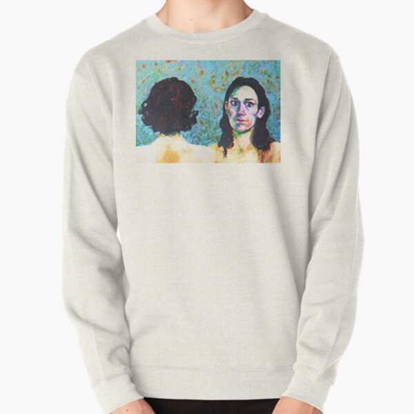 Fleabag and Claire Painting  Pullover Sweatshirt
