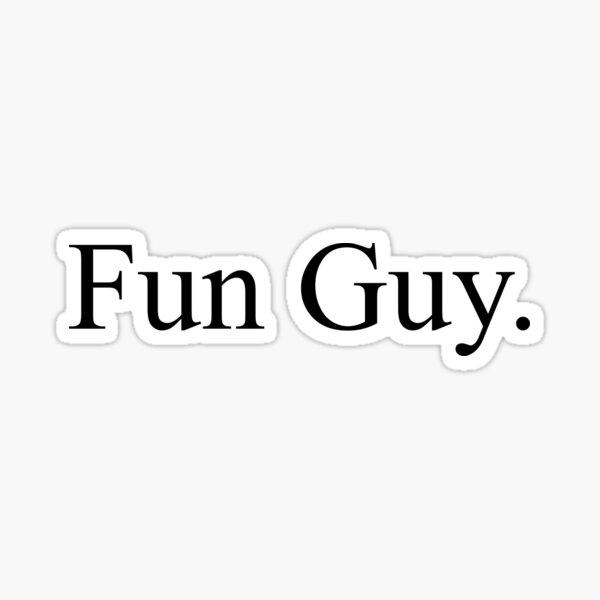 Fun Guy Kawhi Leonard Raptors New Balance Shirt Sticker