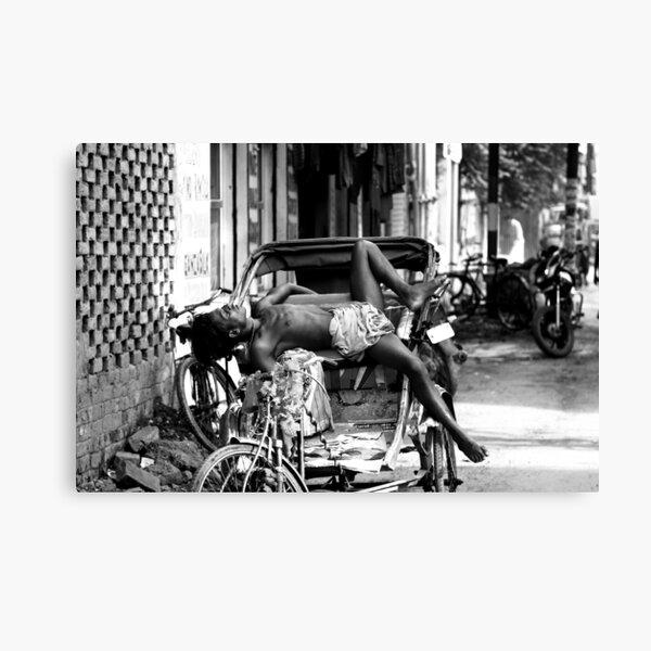 Rickshaw Break Canvas Print