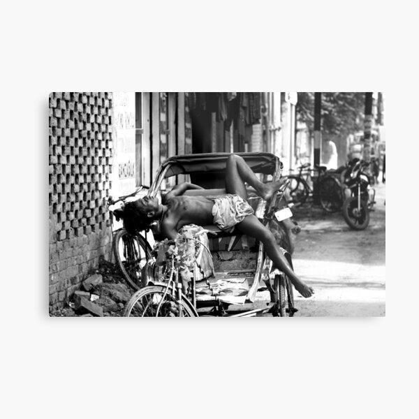 Rickshaw Break Metal Print