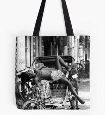 Rickshaw Break Tote Bag