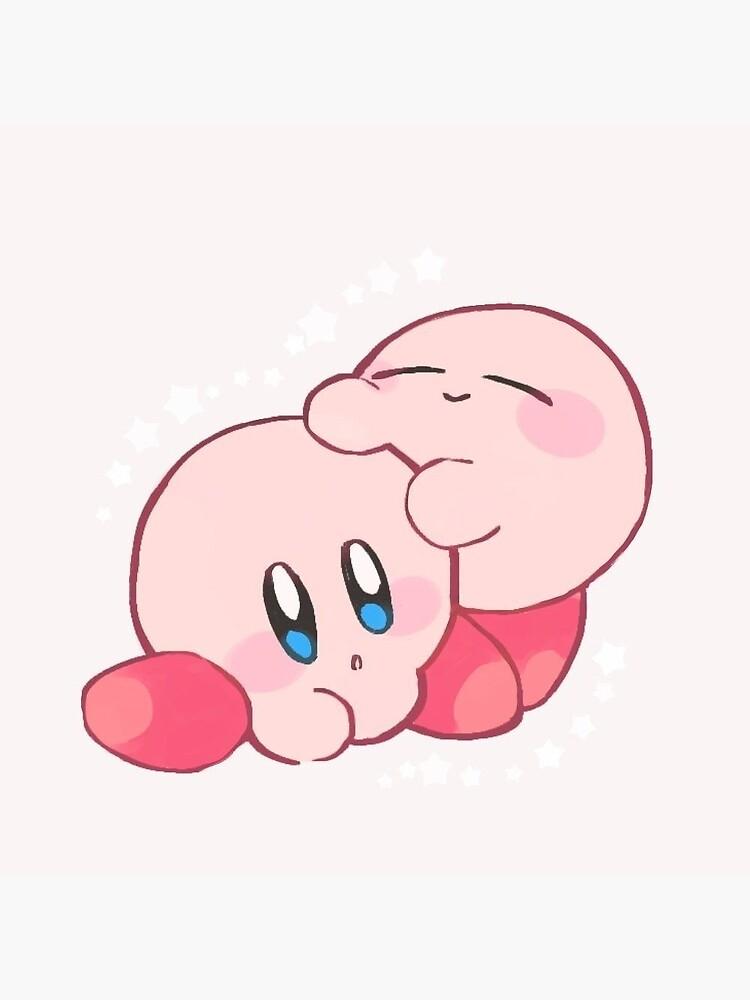 Cute Kirby Greeting Card By Damedenial Redbubble