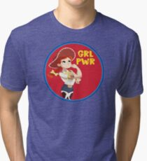 Jessie logo Tri-blend T-Shirt