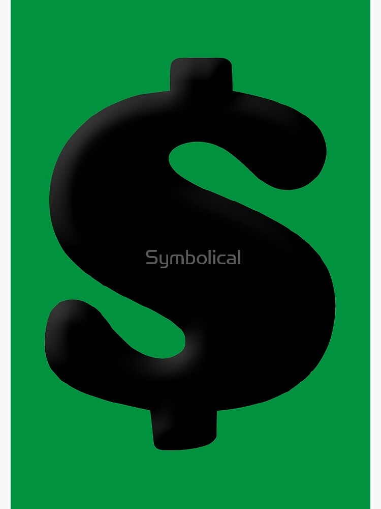 Money Symbol by Symbolical