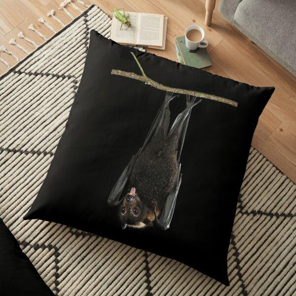 Spectacled Flying Fox Floor Pillow
