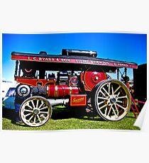 Showmans Road Locomotive Poster