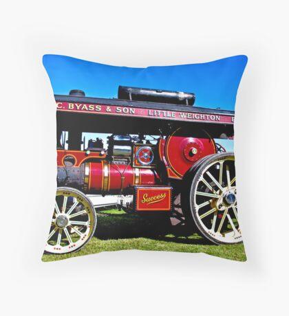Showmans Road Locomotive Throw Pillow