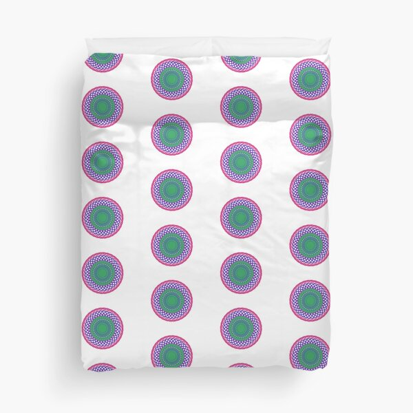 Coiled - Optical Illusion Duvet Cover