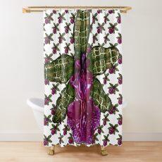Pinque Trellis Shower Curtain