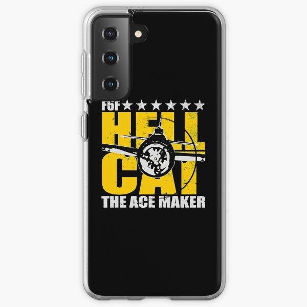 WW2 F6F Hellcat (distressed) Samsung Galaxy Soft Case