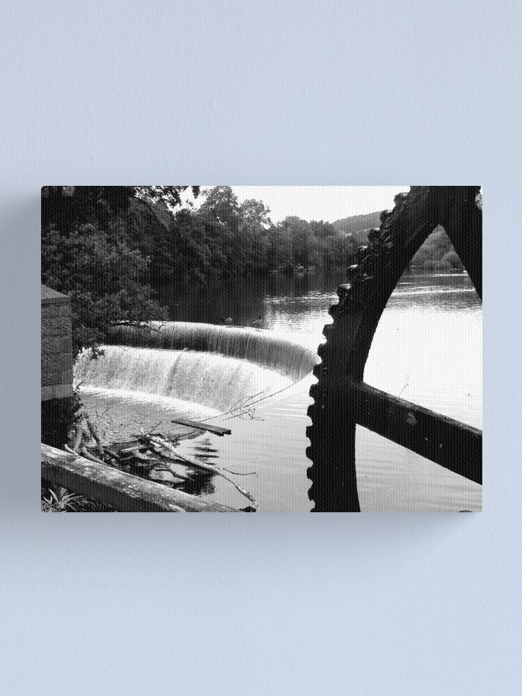 Alternate view of The River Derwent at Belper Canvas Print