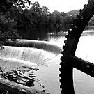 The River Derwent at Belper by Robert Steadman