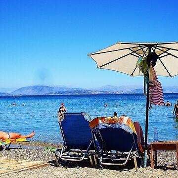 pardise, dassia beach,corfu! by xxnatbxx