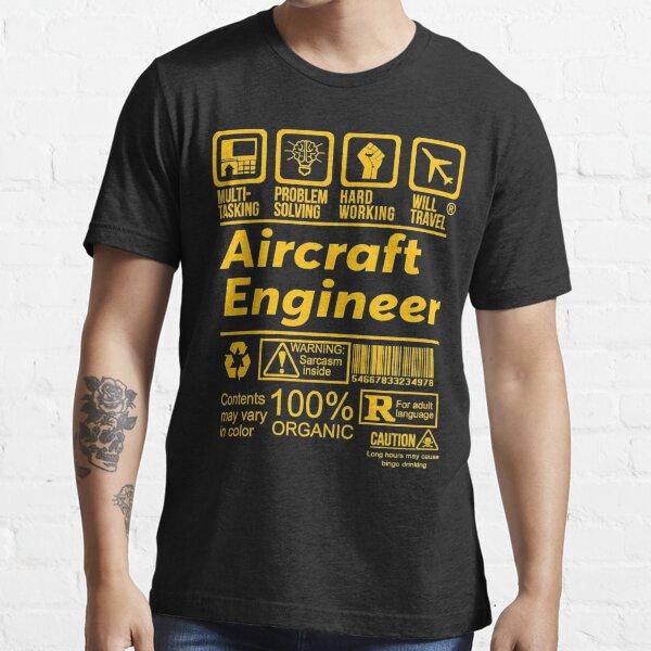 Ingeniero aeronáutico Camiseta esencial