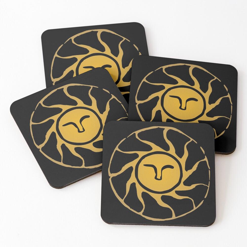 Praise the Sun Coasters (Set of 4)