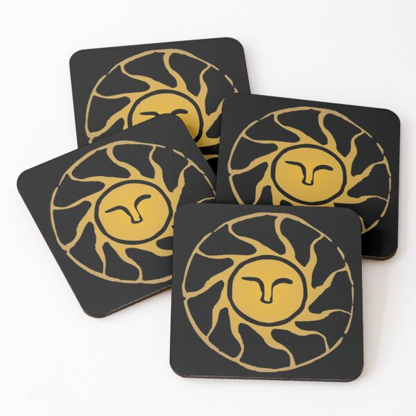 Praise the Sun Coasters (Set of 4)